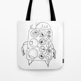Groove-Bot Tote Bag