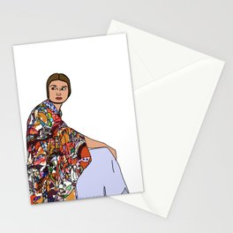 No Ban No Wall | Art Series - The Jewish Diaspora 002 Stationery Cards