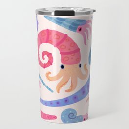 Ancient cephalopods Travel Mug