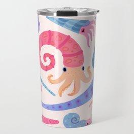 Ancient cephalopods Travel Mug