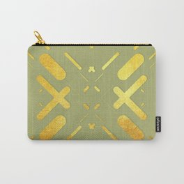 Symmetrical Colorful Lines XV Carry-All Pouch