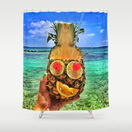 Sun Daze Shower Curtain