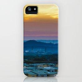 Twiglight Landscape Scene Guayaquil, Ecuador iPhone Case