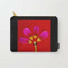 deconstructed tulip Carry-All Pouch