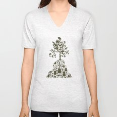 Music Tree Unisex V-Neck