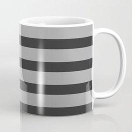Charcoal Gray Stripes Coffee Mug