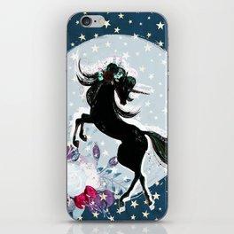 Night Unicorn iPhone Skin