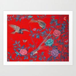 'Of Leaf, Bird, and Flower', by Geogina Heffernan Art Print