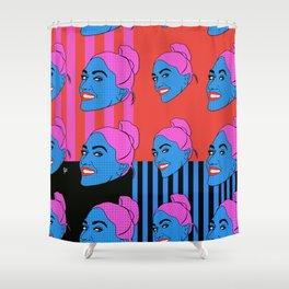 Come together all over the world Part 2 Shower Curtain