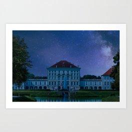 DE - BAVARIA : Nympfenburg palace Munich Art Print