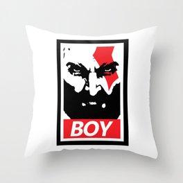 GOW Boy Obey Throw Pillow