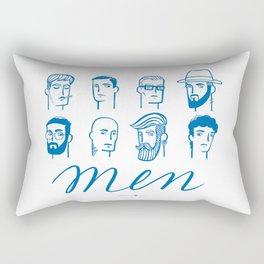Men (are not all the same) Rectangular Pillow