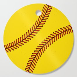 Fast Pitch Softball Cutting Board