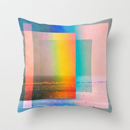 Refraction And Dispersion Throw Pillow