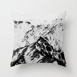 Minimalist Mountains Throw Pillow
