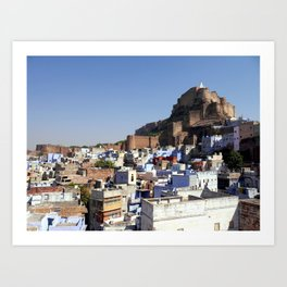 Mehrangarh Fort in Jodhpur Art Print