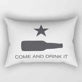 Come And Drink It Rectangular Pillow