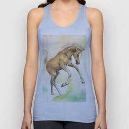 Jumping of joy Unisex Tank Top