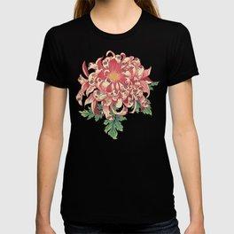 The Chrysanthemum of Pugs T-shirt