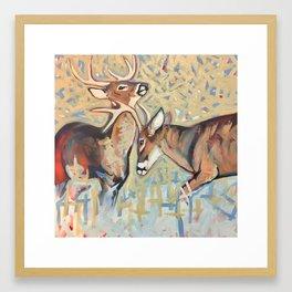 Joust Framed Art Print