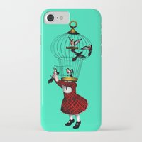 cage iPhone & iPod Cases featuring the cage by cappellosenzatesta