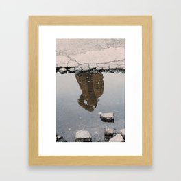 Everything's A Blur Framed Art Print