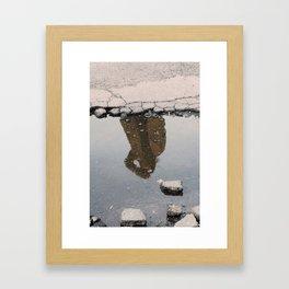 Everything's A Blur Framed Art Print