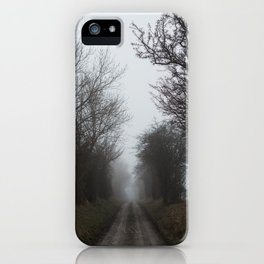 Moody Days III iPhone Case