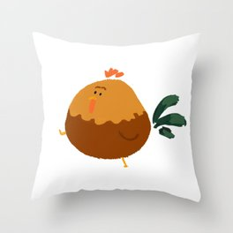 Rooster! Throw Pillow