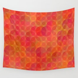 Stained Glass Sunrise Wall Tapestry