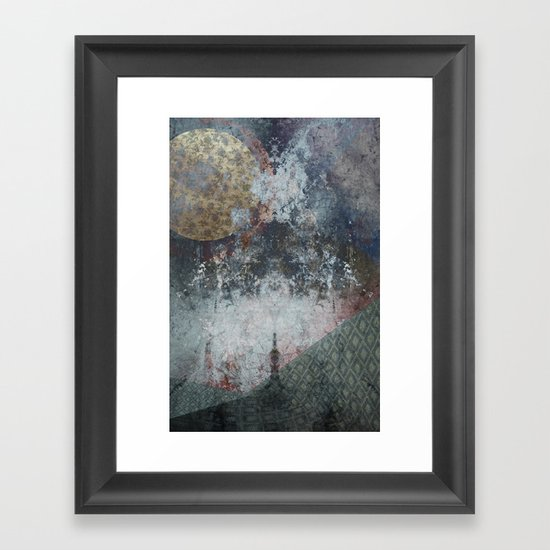 Orbservation 02 Framed Art Print