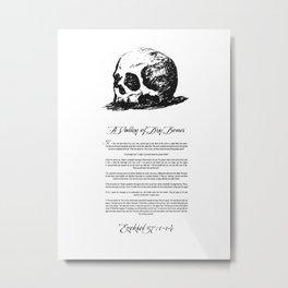 Dry Bones Metal Print