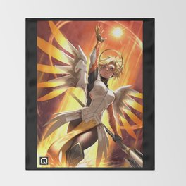 mercy watch Throw Blanket