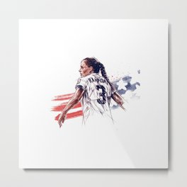 Christie Rampone Metal Print