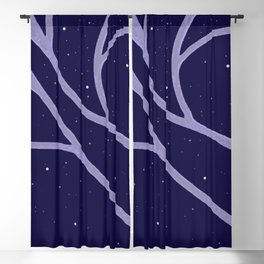 Glorious Spring Cherry Blossoms Blackout Curtain