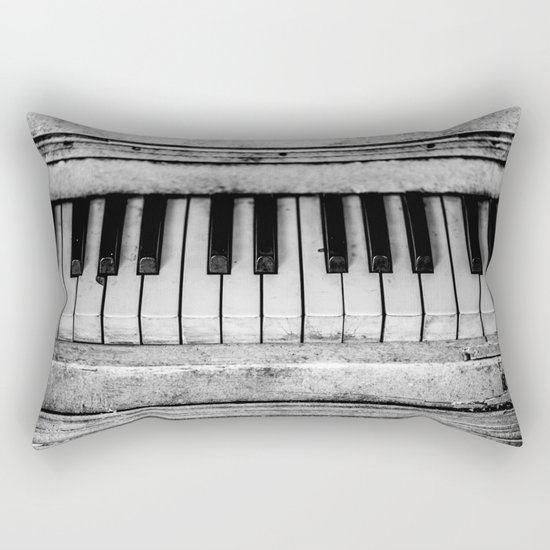 The piano Rectangular Pillow