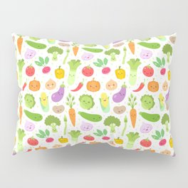 Happy Veggies Pillow Sham