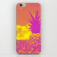 pinapple iPhone & iPod Skins featuring Pinapple  by creativenomad