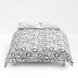 Black Gemstone Comforters