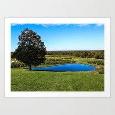 Mapleside Farms Art Print