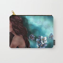 Floral Departure Carry-All Pouch