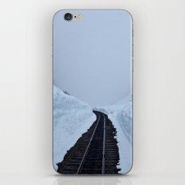The winter pass iPhone Skin