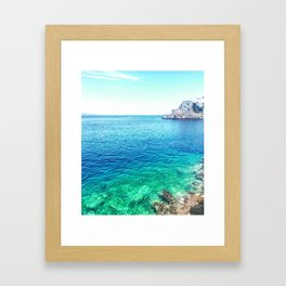 Ydra Framed Art Print