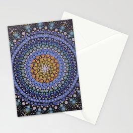 Mandala blue !! Stationery Cards