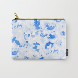 AbstractFlora Lapis Blue Carry-All Pouch