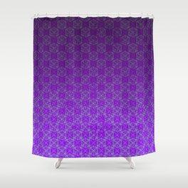D20 Heathen Crit Pattern Premium Shower Curtain
