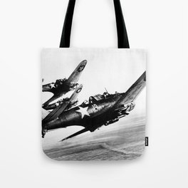 Vintage fighters Tote Bag