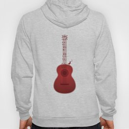 Classical Notation - Cherry Red Hoody