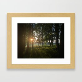 Dusk to Dawn Framed Art Print