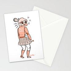 Hail Satin Stationery Cards
